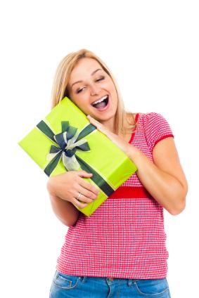 Zeitung als Geschenk