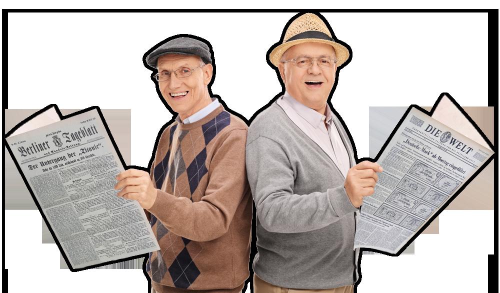 Kunden von Historische Zeitungen